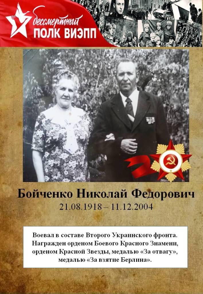 Бойченко Николай Федорович
