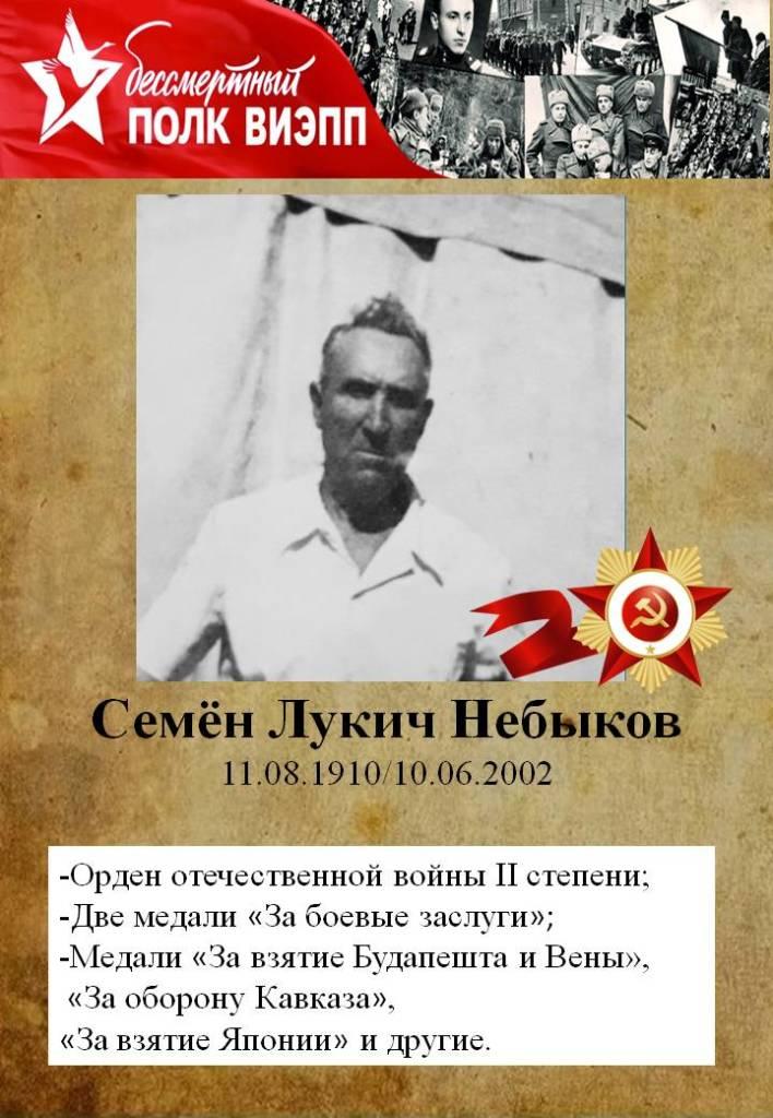 Семён Лукич Небыков