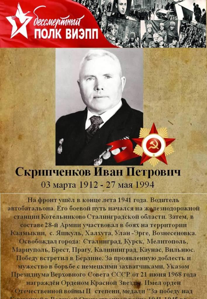 Скрипченков Иван Петрович
